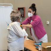 Vacunación contra la COVID en Gijón