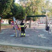 Esta limitación no afectará a parques y zonas verdes en general, sino solo a las de juegos infantiles
