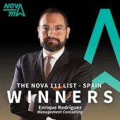 Enrique Rodríguez Fernández-Hidalgo destaca en la lista `The Nova 111 List´ en España.