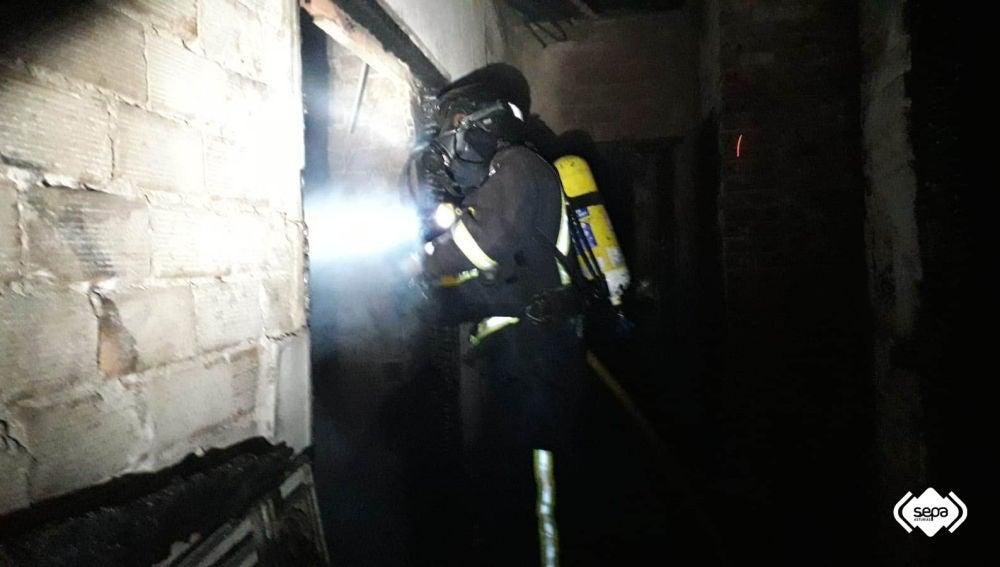 Fallece uno de los afectados del incendio de Ribadesella
