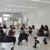 Reunión de trabajo del personal del Centro de Día
