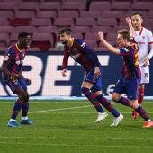 Remontada del FC Barcelona ante el Sevilla FC en las semifinales de la Copa del Rey