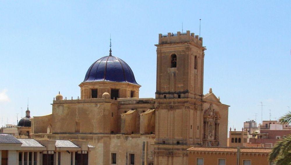 Basílica de Santa María de Elche.