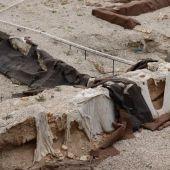 HUERMUR denuncia los derrumbes y el lamentable estado del yacimiento de San Esteban