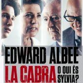 """Cartell de l'obra """"La Cabra o qui és Silvia"""""""