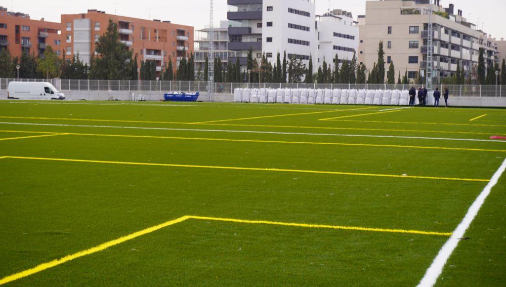 La reforma del polideportivo Altabix finalizará en abril.