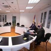 A Xunta avalía a situación na fronteira portuguesa e o impacto do seo peche na Eurorrexión