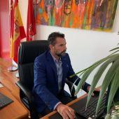 Mario Gómez, concejal de Cs en el Ayuntamiento de Murcia