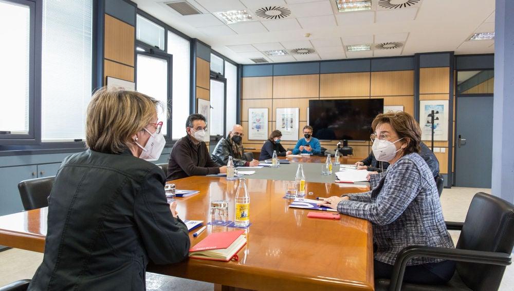 La UJI y Aerocas exploran nuevas vías de colaboración para afianzar la estrategia de diversificación del aeropuerto de Castelló a través de la investigación y la innovación