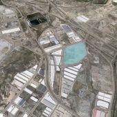 Ubicación del lote de las ocho parcelas a licitación donde se ubicará la nueva planta