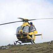 Imagen de archivo del helicóptero de Bomberos de Asturias