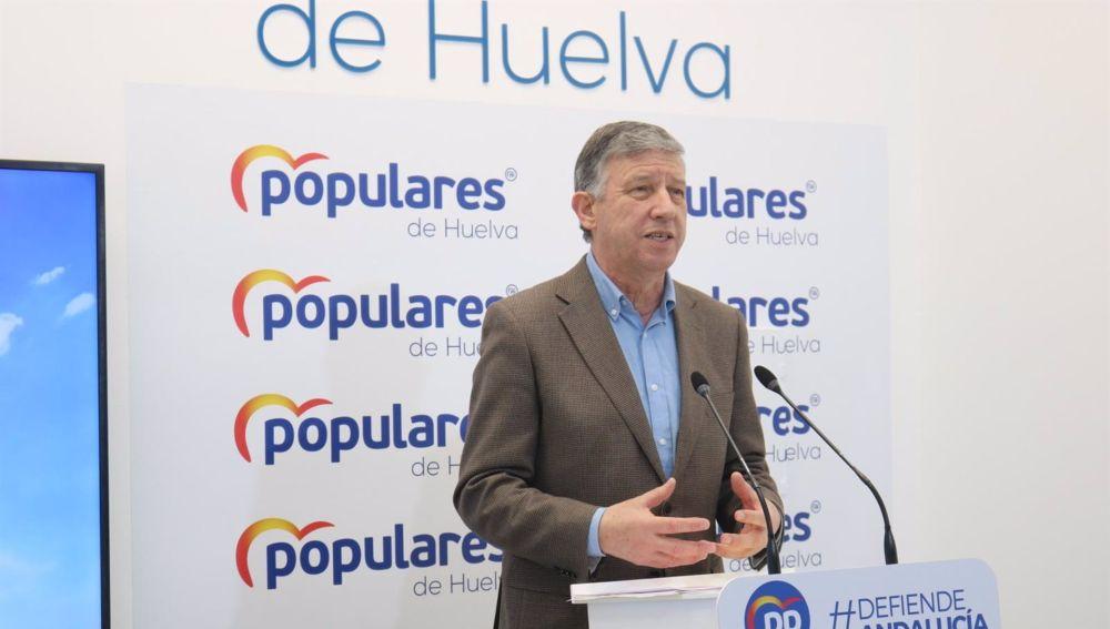 El diputado del PP por Huelva Carmelo Romero