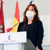 Blanca Fernández, consejera portavoz del Gobierno de CLM