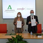 Junta y Renfe acuerdan la integración del Cercanías en el sistema del Consorcio de Transportes