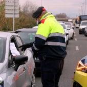 Controls de mobilitat a les carreteres