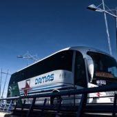 Foto de archivo un autobús