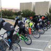 Siete pilotos de BMX de la Unión Ciclista Ilicitana disputan la Copa de España.
