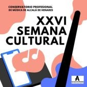 Cartel XXVI Semana Cultural del Conservatorio de Música de Alcalá de Henares
