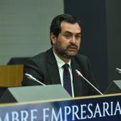 Ricardo Mur durante una intervención en la pasada Cumbre Empresarial