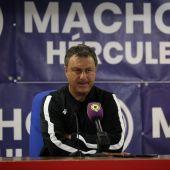Manolo Díaz, entrenador del Hércules.
