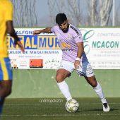 Fran Martínez, en su estreno como jugador del Athletic Club Torrellano ante el Orihuela B.