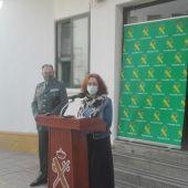 María Ángeles Herreros ha informado de los detalles de la operación de la Guardia Civil