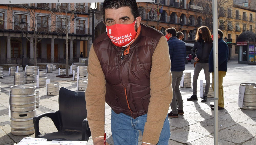 Tomás Palencia, presidente de la Asociación Provincial de Hostelería y Turismo de Toledo