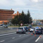 Controles policia Segovia
