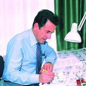 El animador Cruz Delgado