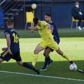 El delantero del Villarreal Gerard Moreno