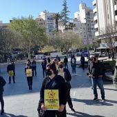 Protestas Peluquerías