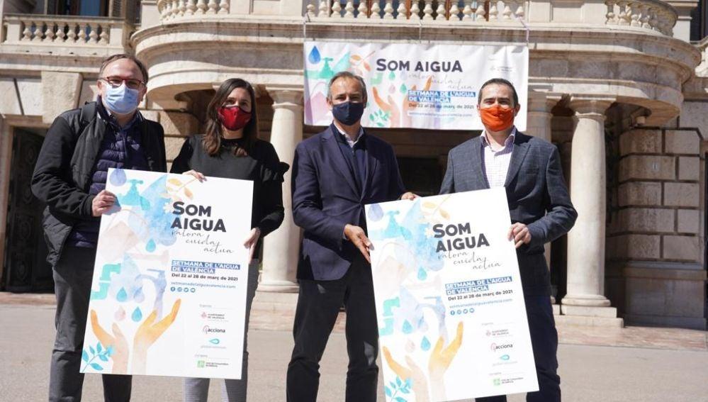 El Ayuntamiento de Valencia y Global Omnium impulsan actividades al aire libre para celebrar el día Mundial del Agua
