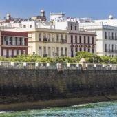 Barrio de San Carlos, en Cádiz