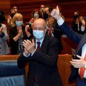 Fernando Igea y Mañueco celebran el fracaso de la moción de censura en Castilla y León