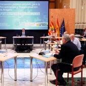 El presidente Lambán se ha reunido con agentes del sector agroalimentario