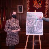 Emma Buj y Juan Carlos Cruzado explican su propuesta de estación intermodal