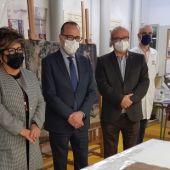 La Escuela de Restauración diseña un protocolo para el futuro traslado de las pinturas de Sijena