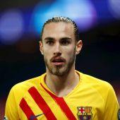 Mingueza, jugador del Barcelona