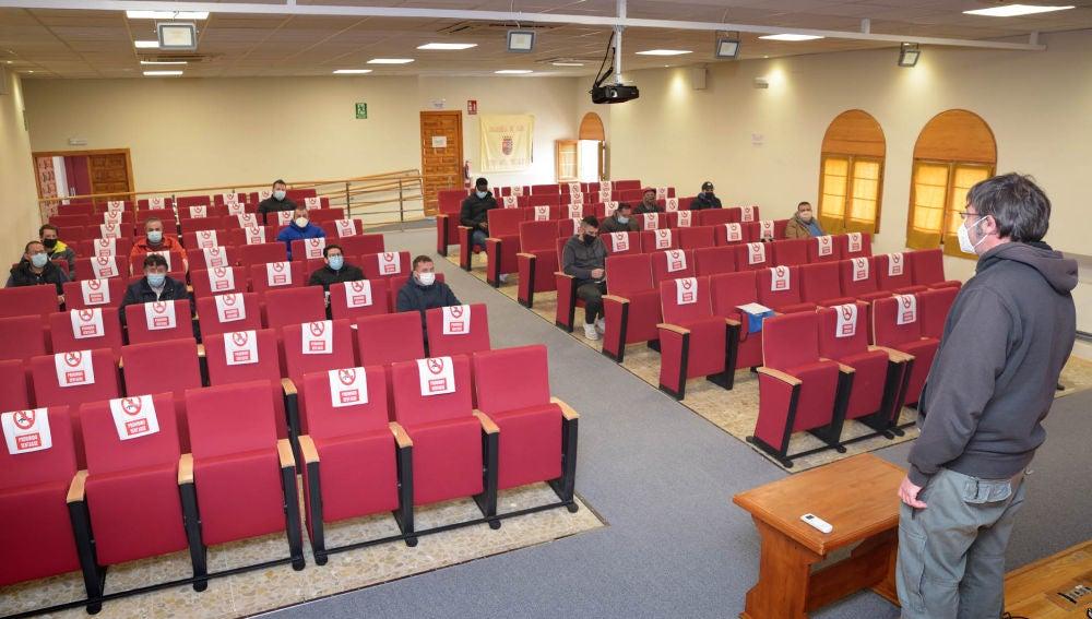 Veinte alumnos participaron en el curso de formación en Prevención de Riesgos Laborares