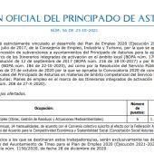 El Ayuntamiento de Tineo contratará a 6 peones