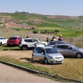 Desalojo de la fiesta ilegal en Albarreal de Tajo