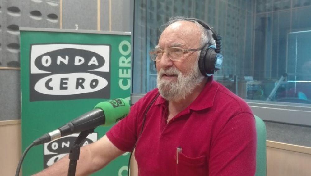 Paco Alarcón, en el estudio de Onda Cero Cuenca en el año 2016