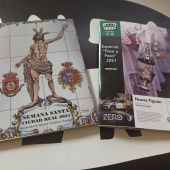 Portada y anteportada de la revista de Onda Cero dedicada a la Semana Santa de Ciudad Real