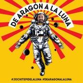 Cartel de la candidatura de Jochi para ir a la Luna