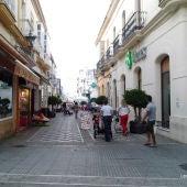 Calle San Rafael con esquina de Matute, en San Fernando