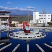 Depuradora de aguas residuales en Tres Cantos (Madrid)