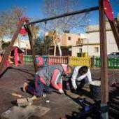 Parque infantil en Sanlúcar