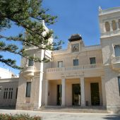 Fachada principal del Museo Arqueológico de Alicante MARQ