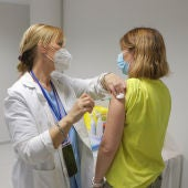 Vacunación en CLM