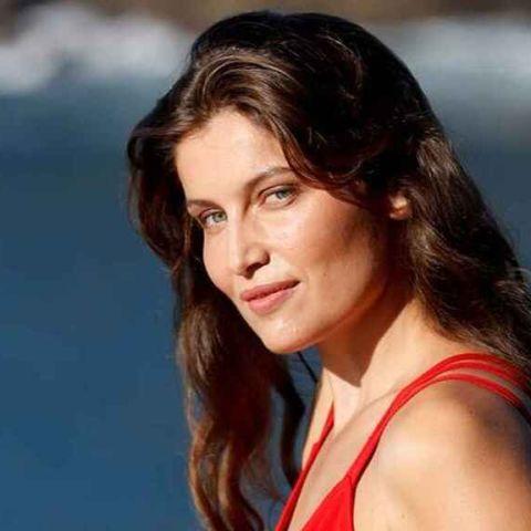La actriz Laetitia Casta, en el photocall oficial del Festival de San Sebastián 2019